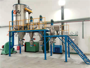 Fluidized bed airflow pulverizer