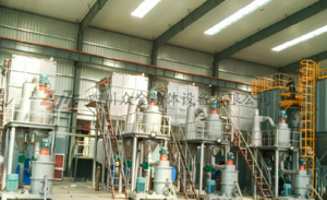 Scrap battery product crushing and separation system