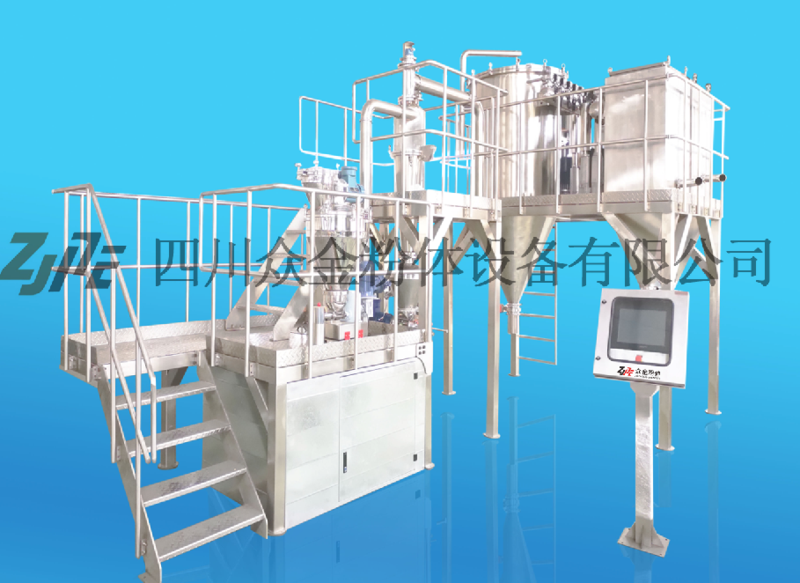 钛白粉专用气流粉碎机,粉碎机,分级机,气流磨